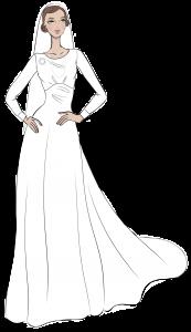 royale brudekjoler